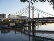 River Thames, Albert Bridge An...