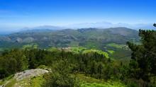 Mirador Del Fitu Viewpoint Fito In Asturias Spain