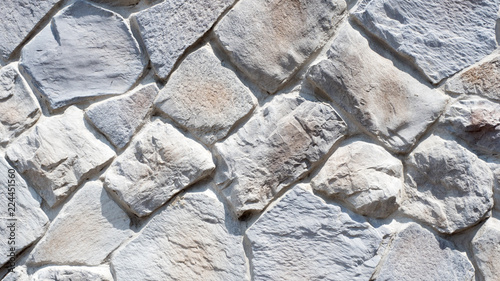 close up stone wall background or texture