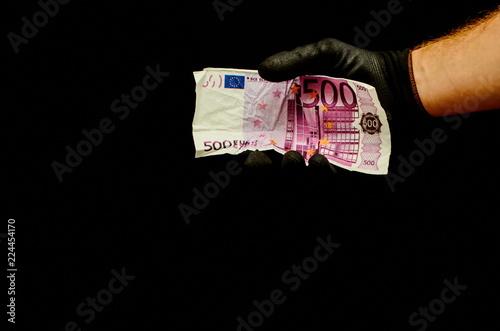 Fotografiet  European Euro Money Banknote
