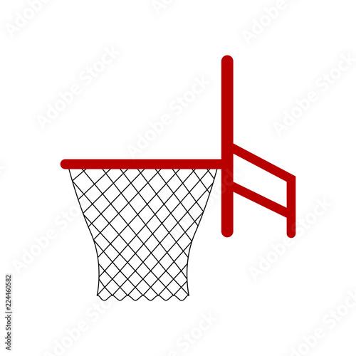 Isolated basketball net icon - fototapety na wymiar