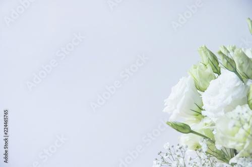 トルコキキョウ 花束 Fotobehang