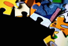 Children's Puzzles Scattered O...