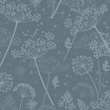 cow parsley texture repeat modern pattern - 224469388