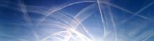 Dunststreifen Am Himmel - Chemtrails