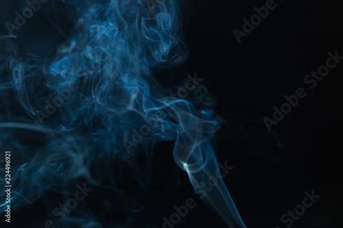 Fotobehang Rook Movement of white smoke