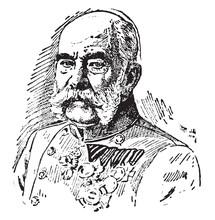 Francis Joseph I, Vintage Illu...