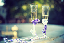 Glass, Champagne, Wine, Drink, Table, Glasses, Celebration, Party, Wedding, Alcohol, Christmas, White, Wineglass, Restaurant, Dinner, Decoration, Holiday, Empty, Toast, Two, Beverage, Crystal, Celebra