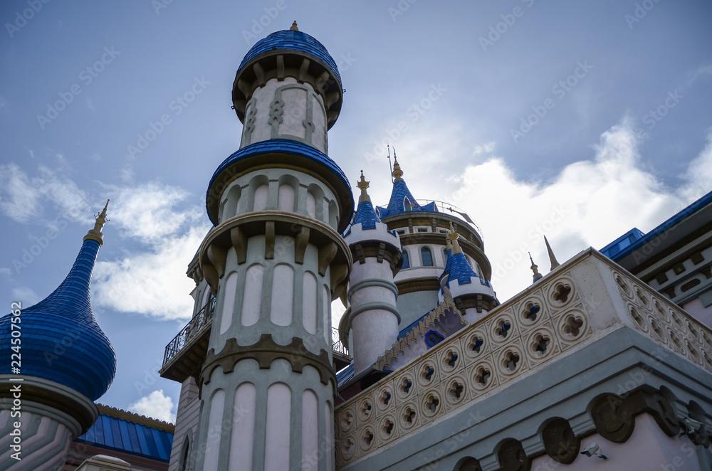 fairy tale castle Eskisehir in Turkey