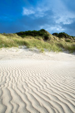 Sand Dunes And Dramatic Sky, Camusdarach Beach, West Highlands, Scotland, UK