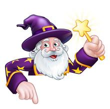 A Wizard Merlin Magician Hallo...