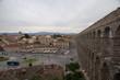 Paseo por la hermosa ciudad monumental de Segovia, España