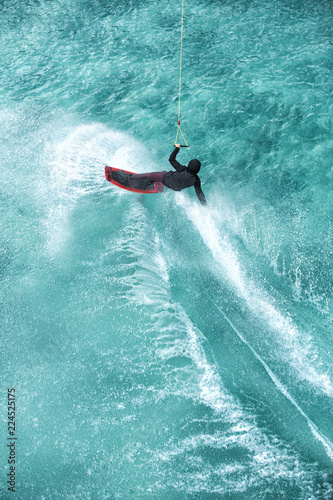 Wakeboarding Canvas Print