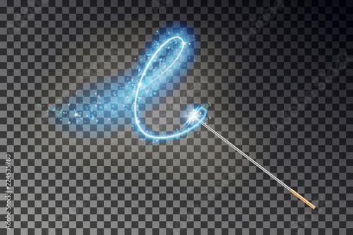 Fotografie, Obraz Magic wand vector