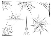 Halloween Cobweb Set In Hand S...