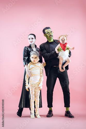 Halloween Family Fototapet