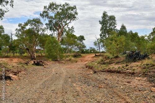 Staande foto Oceanië Australia, Northern Territory, Outback track
