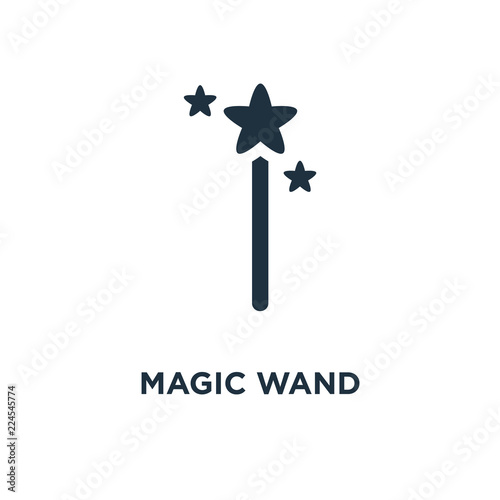 Fotografie, Obraz  Magic wand icon