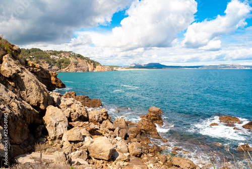 Fotografía  Breathtaking landscape along Costa Brava in Catalonia Spain