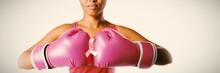 Woman For Breast Cancer Awaren...