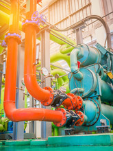 Colorful Of Pipe And Equipment...