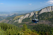 The Cable Car To Kasprowy Wierch Peak in the High Tatra, Poland.
