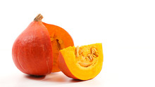 Pumpkin Isolated On White Back...