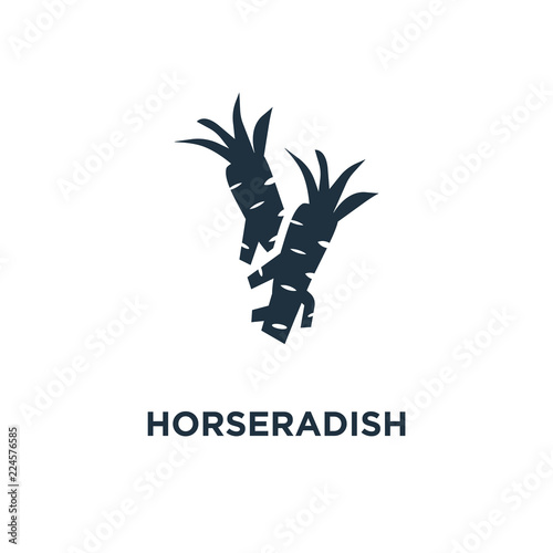 Fotografie, Tablou horseradish icon
