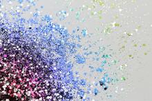 Color Glitter - Macro Photo