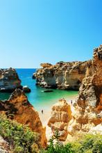 Scenic Beach, At Algarve, Port...