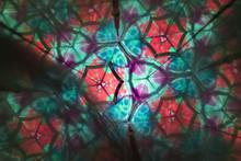 Inside Of A Giant Kaleidoscope