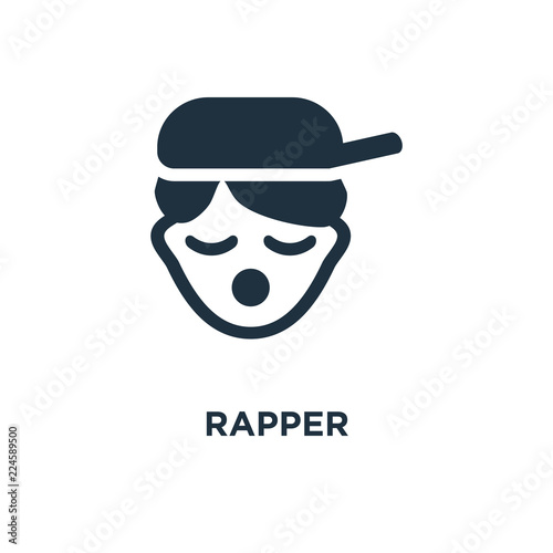 Fotografia  rapper icon
