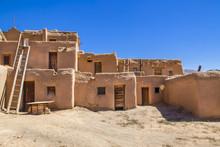 Multi-story Adobe Buildings Fr...