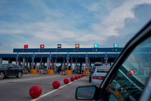 Checkpoint On A Toll Road