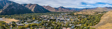 Ketchum Idaho Panoramic In Aut...
