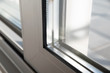 canvas print picture - Terrassentür mit Mehrfachverglasung
