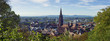 canvas print picture - Freiburg im Breisgau
