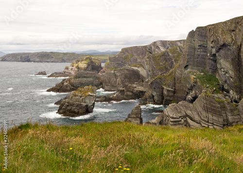 Fotografia  Seascape and Cliffs in Ireland