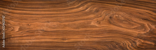 Super long walnut planks texture background.Walnut wood texture.Texture element