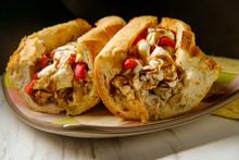 Grilled Chicken Mozzarella Sandwich