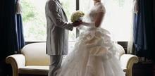 幸せなふたりの結婚式
