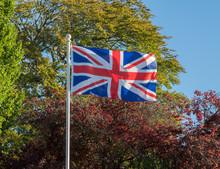 Union Jack Or Union Flag Flyin...