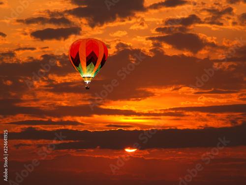 Fotografie, Obraz  a beautiful sun rise