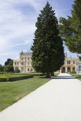 Fototapeta na wymiar Lednice Castle in Czech Republic