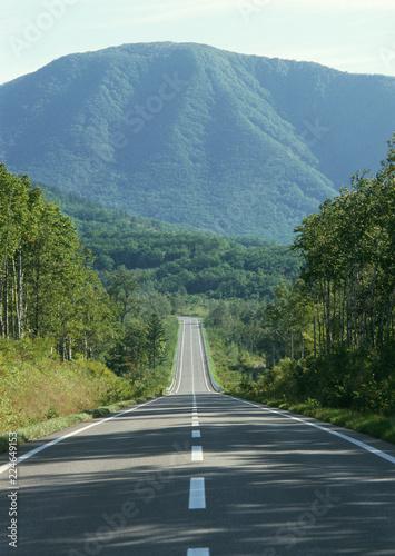 Fotografía  Carretera camino asfalto