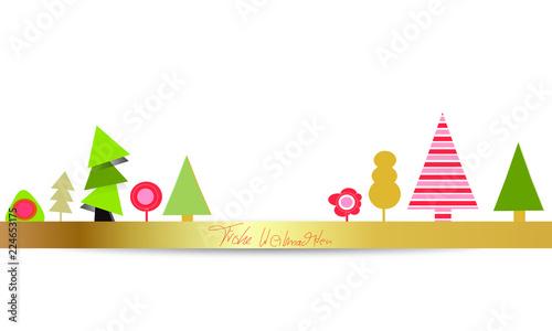 Frohe Weihnachten Band.Frohe Weihnachten Baum Bäume Wald Band Banner Hintergrund Buy This