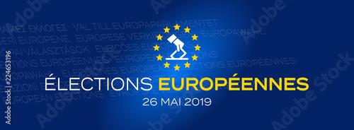 Photo  Elections européennes 26 mai 2019