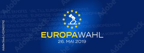 Fotografie, Obraz  Europawahl 2019 / 26. Mai 2019