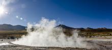 Tatio Geysers, Atacama Desert,...