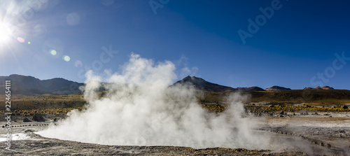 Fényképezés Tatio Geysers, Atacama Desert, Chile